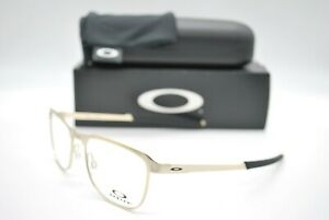 NEW OAKLEY OX3244-0455 TALL PIPE LIGHT GOLD AUTHENTIC EYEGLASSES FRAME RX 55-18