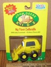 John Deere Kids SCOTTY SKID STEER Ertl Toy 36580 DIE CAST 2001 First Collectible