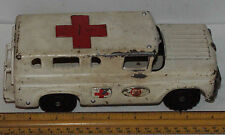 Made in Japan, SANS Pull Toy Ford Ambulance