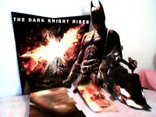 THE DARK KNIGHT RISES POSTER CUT OUT BATMAN EXTREEMELY RARE!!! COLLECTABLE