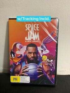 Space Jam : A New Legacy DVD New In Plastic  Region 4 FREE POSTAGE w/Tracking