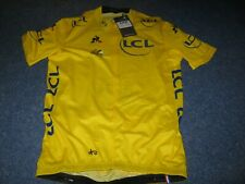 TOUR DE FRANCE 2017 LCS YELLOW LEADERS CYCLING JERSEY [XL] BNWT