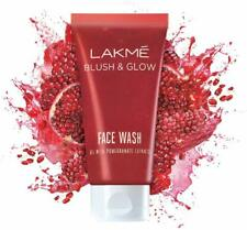 Lakme blush and glow gel face wash 100grams pomegranate Extracts Free ship