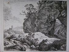 F. RECHBERGER ´LANDSCHAFT NACH C. W. E. DIETRICH (DIETRICY); RADIERUNG´  ~1800
