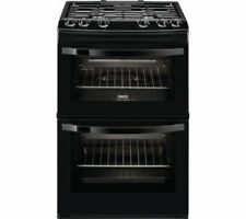 Zanussi Black Stainless Steel Home Cookers