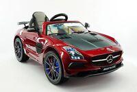 Mercedes SLS AMG Final Edition 12V Kids Ride-On Car R/C Parental Remote | Cherry