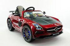 Mercedes SLS AMG Final Edition 12V Kids Ride-On Car R/C Parental Remote   Cherry