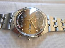 RARE VTG JAPAN MADE BIG SIZE ORIENT CALENDAR GENTS AUTOMATIC WRISTWATCH