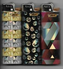 """NIGHT OUT"" BIC LIGHTERS SET OF 3  MADE IN THE USA SET#1"