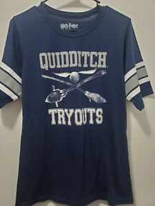 *HARRY POTTER GIRLS T-SHIRT QUIDDITCH TRYOUTS SIZE 2XL-NWOT!*