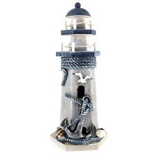 Anchor Wooden Lighthouse Nautical Themed Rooms Lighthouse Home Decor 10
