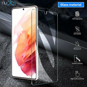 Nuglas For Samsung Galaxy S21 / S21+ PlusTempered Glass Screen Protector  Cover