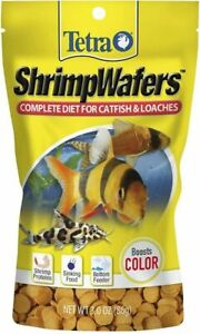 TETRA Shrimp Wafers Complete Diet For Catfish & Loaches 3.0 oz *NEW* 05/23