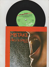 """7"""" Single*The Mike Oldfield Group*Mistake*The Peak*gut"""