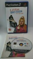 Little Britain Video Game for Sony PlayStation 2 PS2 PAL TESTED
