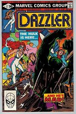 Dazzler #6 1981 (C5999) Hulk - 1st Appearance of Beefer Marx Hunch