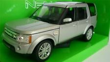 1/24 Silver LAND ROVER DISCOVERY 4 Boys Toy Model Diecast Boxed Birthday Gift