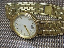 Noblia classic lady quality watch by Citizen 94610-E61287Y 14k electroplated