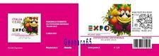 ITALIA TESSERA FILATELICA EXPO MILANO 2015