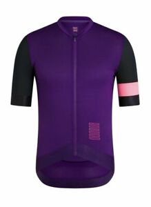Rapha Pro Team SS Training Jersey Purple Black Pink Large BNWT Uber RARE!