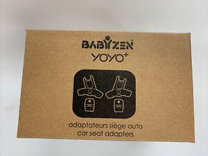 Babyzen Yoyo+ car seat adapters - new