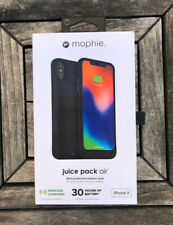 Mophie Juice Pack Air External Battery Case Wireless Charging iPhone X