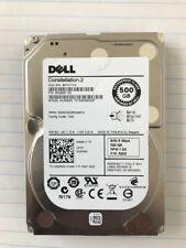 """DELL 500GB 7.2K 2.5"""" SATA DRIVE , MODEL ST9500620SS , P/N: 055RMX"""
