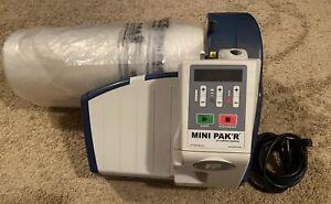 Mini Pak'r Air Pillow Cushion Bubble Maker Machine MMP01MNPKR + 2 Rolls