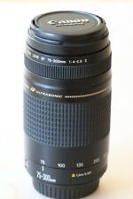 Canon EF II 75-300mm F/4.0-5.6 lens - relisted due to timewaster