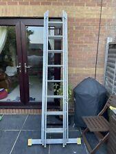More details for aluminium trade ladder with stabiliser bar
