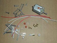 Kit de repuestos de reparación de coche de Scalextric-Motor, piñón, Trenza, Ojal, Alambre Tornillos Etc