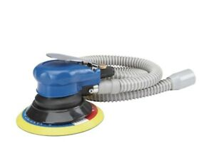 6 inch Self-Vacuuming Air Palm Sander with Built-in Regulator for Speed Control;