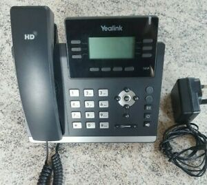 Yealink SIP-T41P PoE Powered VOIP IP Phone. Locked with unknown password