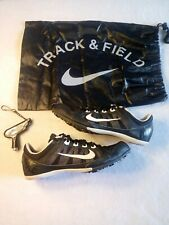 Nike Zoom Rival MD 7 Track Running Shoes 616312 010 Black Size 7.5 W/ Bag/Tool