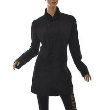 G-Star Jeans Raw Femmes Minor Fashion Long Manteau Noir Taille XL Authentique