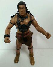 "THE MUMMY RETURNS - Scorpion King The Rock as Mathayus 6.5"" Jakks Figure 2001"