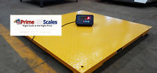 """5 Year Warranty 2,500 lb x .5 lb 40"""" x 40"""" Floor Scale for Weighing Pallets"""