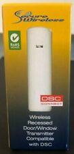 Brand New DSC EV-DW4917 Wireless Recessed Door/Window Contact w/ Rare Earth Mag