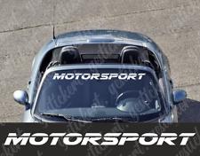 1x 100 cm Motorsport Frontscheiben Aufkleber Sticker Decal Tuning Auto Car Kfz