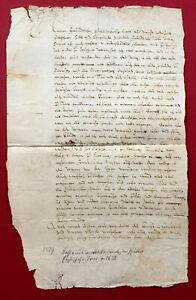 1589 TRIER Erzbischof METTERNICH, Lothar  - eigh. Brief Kavaliersreise Italien
