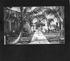 RPPC postcard Apartments Harding Ave in Miami Beach FLORIDA Dade County photo RP