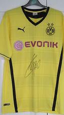 "signed "" JURGEN KLOPP - BORUSSIA DORTMUND "" 2013/14 Home Shirt (PROOF & COA)"