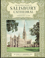 THE PICTORIAL HISTORY OF SALISBURY CATHEDRAL (1966) London illustrated SC