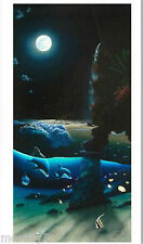 "WYLAND & HOGUE ""ISLAND PARADISE"" S/N GICLEE ON CANVAS"