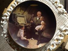 "Knowles Plate, Norman Rockwell, ""Grandpa's Treasure Chest"", No papers."