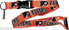 Philadelphia Flyers Break Away Lanyard with Double Sided Logo/Graphics
