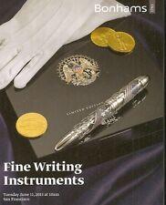 Bonhams / Fine Writing Fountain Pens Montblanc Auction Catalog June 2013