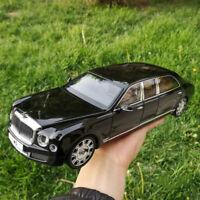 Bentley Mulsanne extended edition 2017 Metal Diecast Model Car 1:18 Scale Black