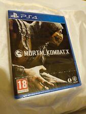 Mortal Kombat X 10 Original PS4 Nuevo Sellado PAL versión Sony PlayStation 4 Reino Unido