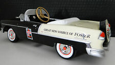 1955 Chevy Pedal Car Vintage BelAir Hot Rod Sport Rare Midget Metal Model